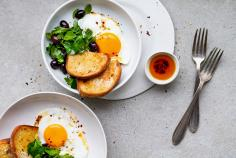 Moroccan spiced eggs