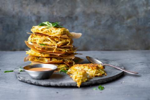 Kabis-Pancakes (Okonomiyaki)