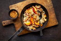 Apple and rice dish