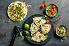 Tortillas farcies au fromage