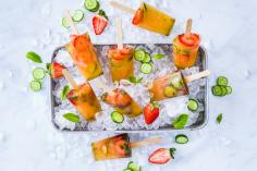 Pimm's Cup ice lollies