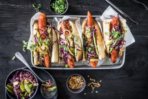 Hot-dogs aux carottes