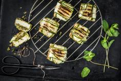 Grilled cheese parcels