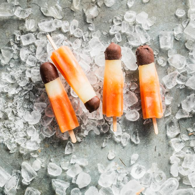 Rocket lollies