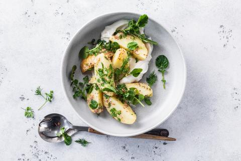 Potato & herb salad
