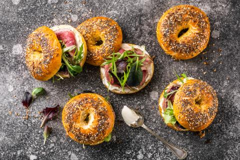 Everything bagel farcito
