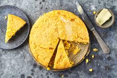 Cornbread with sweetcorn