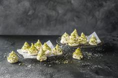 Meringue fir trees