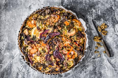 Autumn quiche