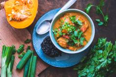 Squash massaman curry
