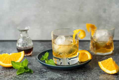 Old Fashioned con sciroppo d'acero