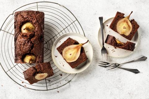 Cake alle pere e al cioccolato