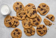 Tahina Chocolate Chip Cookies