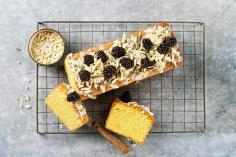 Cake à l'huile d'olive et aux amandes