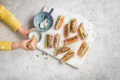 Summer rolls for kids