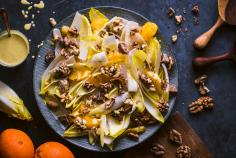 Curried chicory salad with oranges