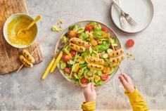Chipolatas marinées et salade