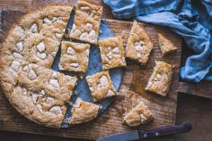 Blondies vegan à la noix de coco