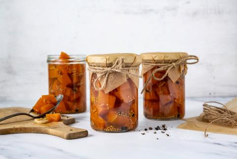 Pickled sweet & sour squash
