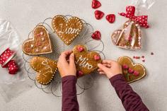 Lebkuchen-Herzen