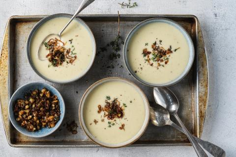 Cream Of Jerusalem Artichoke Soup Recipes Fooby Ch