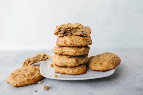 Cookies à la banane aux 5ingrédients