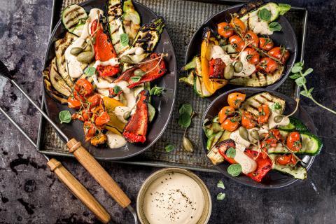 Légumes grillés tonnato