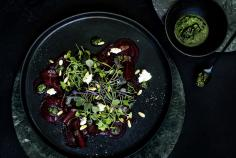 Primavera beetroot salad