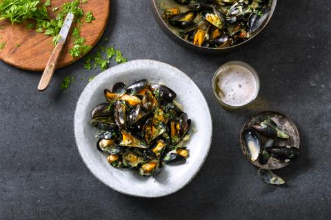 Moules à la mode de Cologne