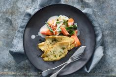 Lemon Sole Fillets on a Bed of Ginger Carrots