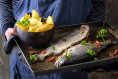 Mediterranean Trout with Potatoes