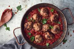 Polpette Meat Balls with Tomato Sauce