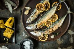 Thai-Mex style grilled mackerel