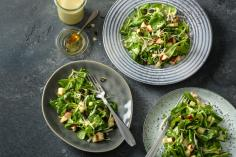 Lamb's lettuce with apple and celeriac dressing