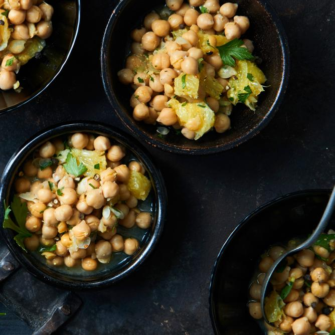 Chickpea Orange Salad