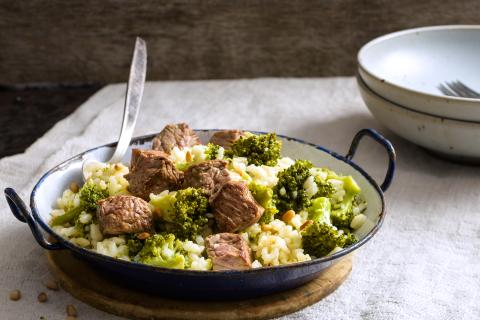 Risotto al broccoli