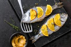 Sea Bass with Orange Butter