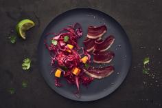 Red Cabbage Mango Salad