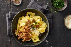 Pappardelle with Pork Sausage Ragout