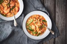 Curry ai frutti di mare