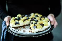Magenbrot Grape Pie