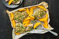 Oven Baked Yellowfin Tuna